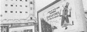 Billboard exorta cubanos a atingir a meta de seis milhões de toneladas de açúcar até Junho de 1970 , prometendo que seria um duro golpe para o Tio Sam. Castro apostou a
