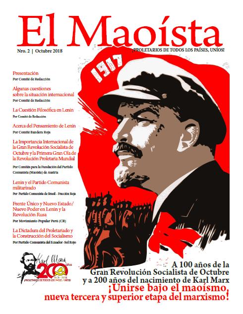 Capa Revista O Maoista nº2